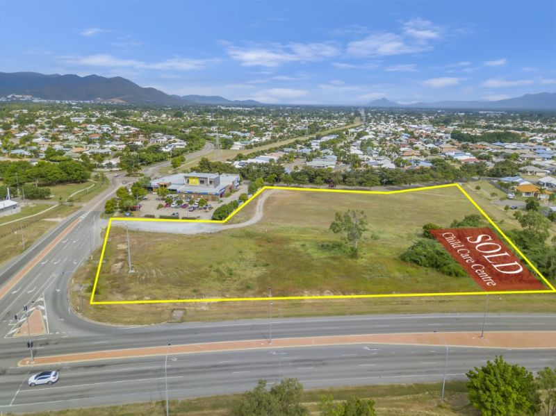 Commercial land on major Kirwan arterial road