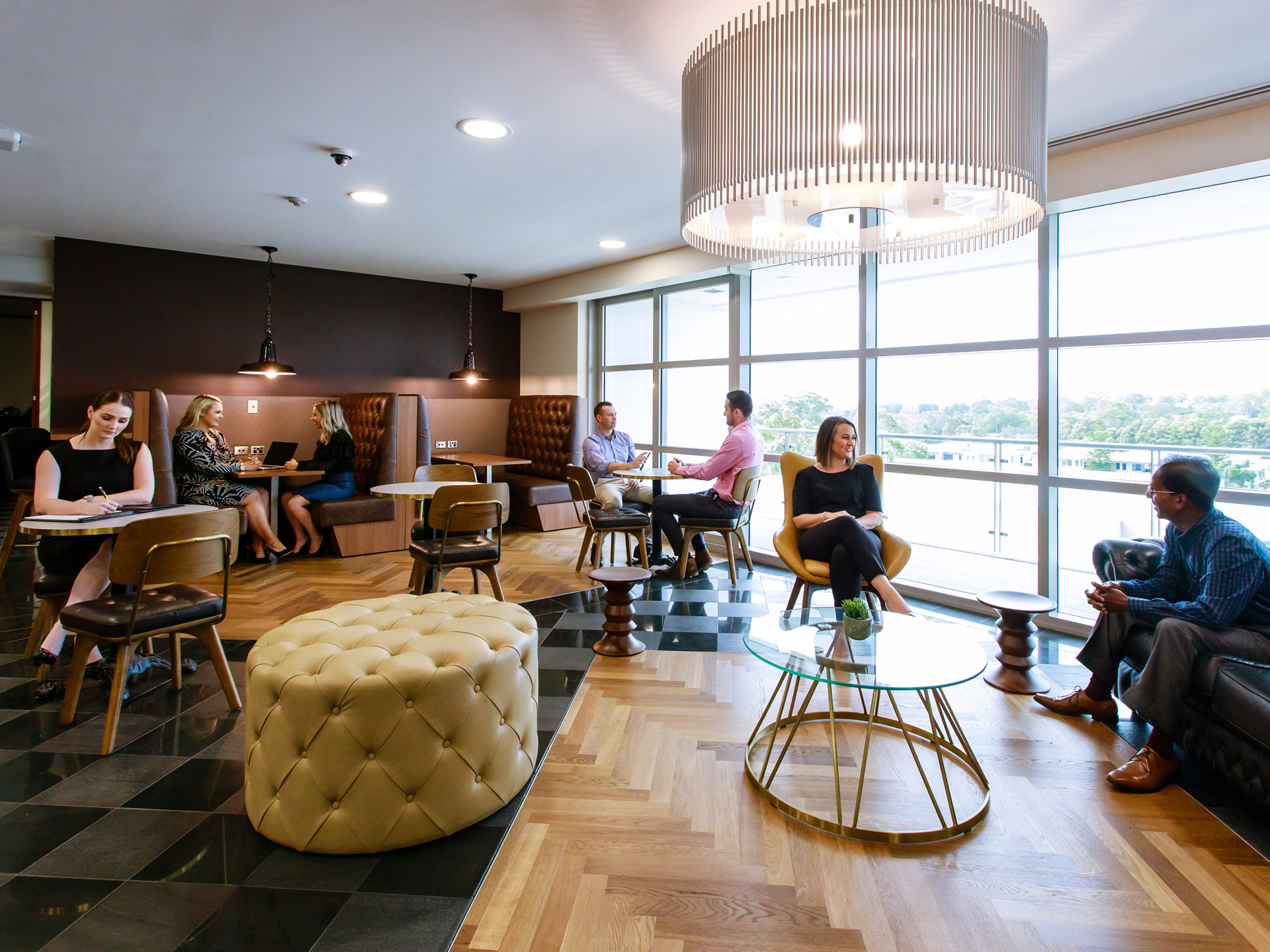 Private 2-person workspace with access to Coworking breakout areas