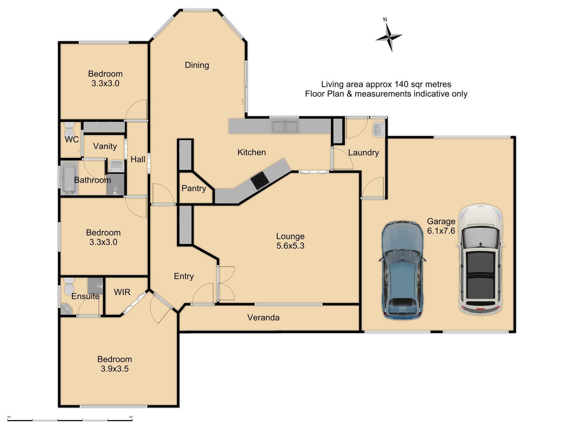 5 Gersbach Place - Floor Plan