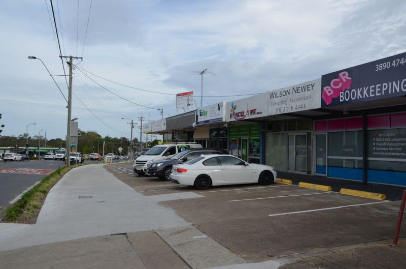Showroom/Office at the corner of Manly & Belmont Roads