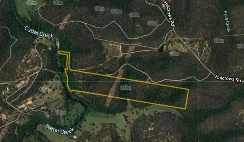 INSPECTION BY APPOINTMENT. Your own private paradise on 52 acres with creek frontage. DA approval for two lot subdivision. A Perfect Hideaway.