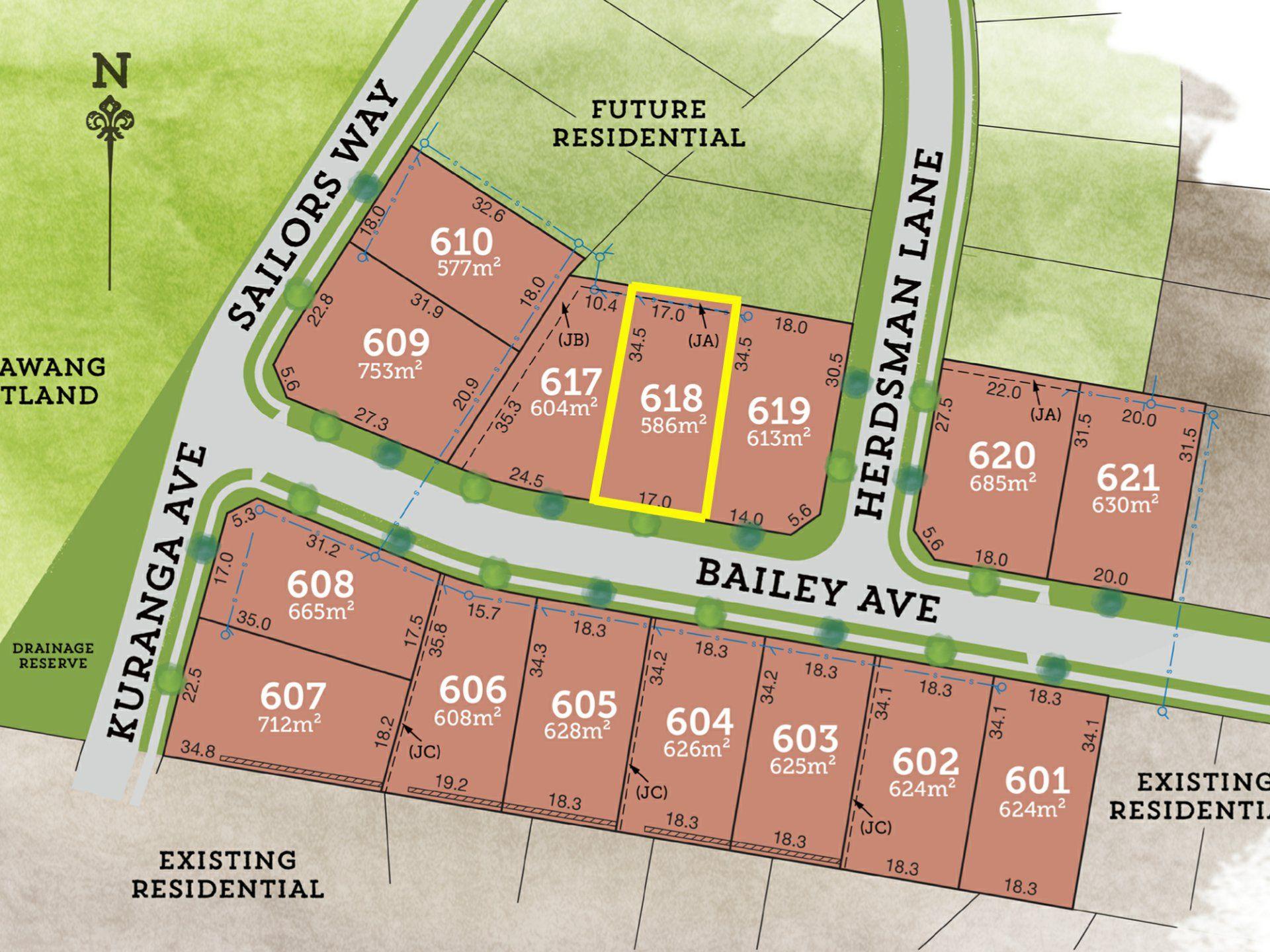 Lot 618 Bailey Avenue RAYMOND TERRACE 2324