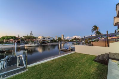 North-to-Water with Contemporary Class and Private Pool!