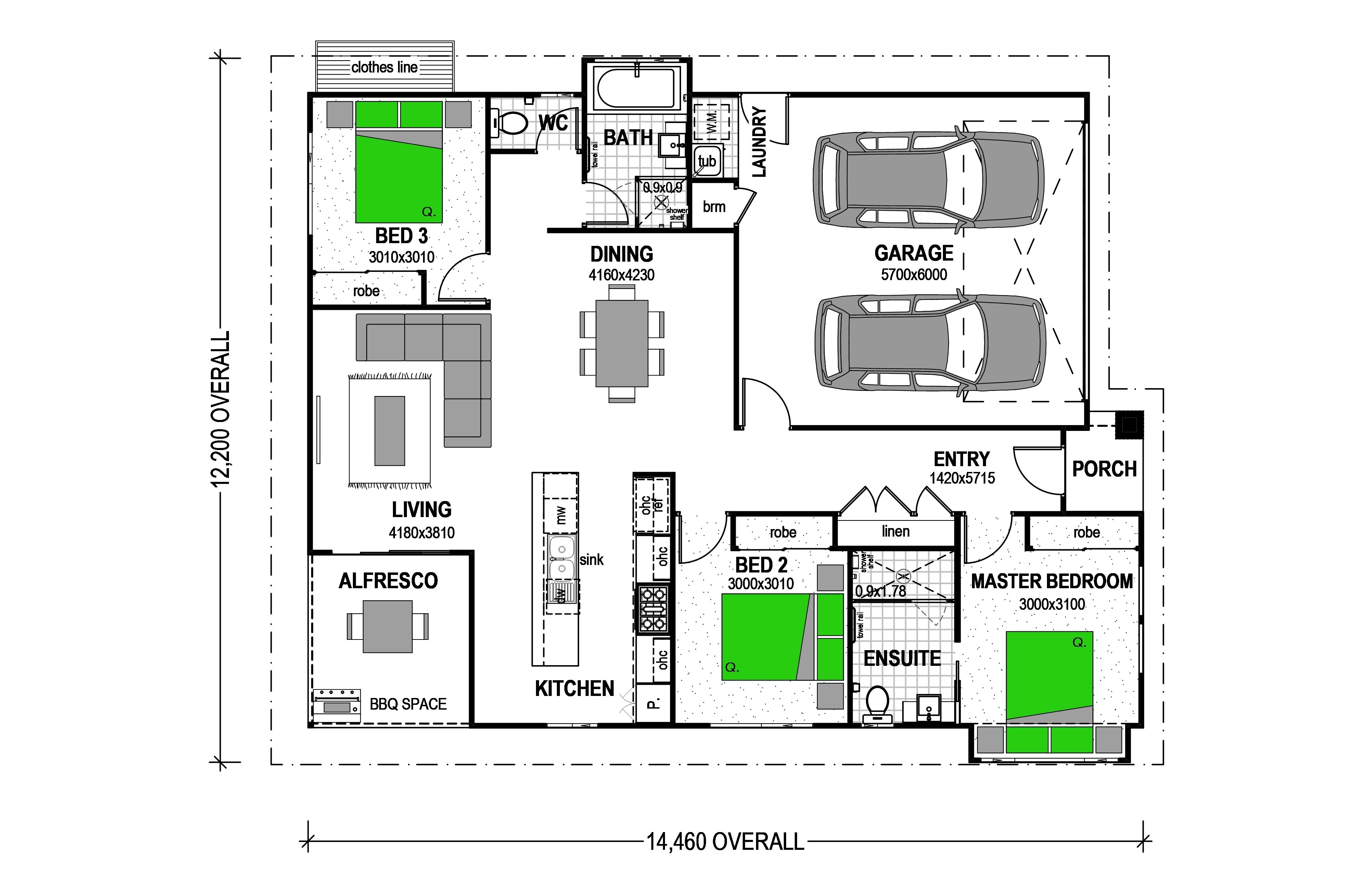 LOT 1 HEWSON DRIVE SNELLS BEACH Floorplan