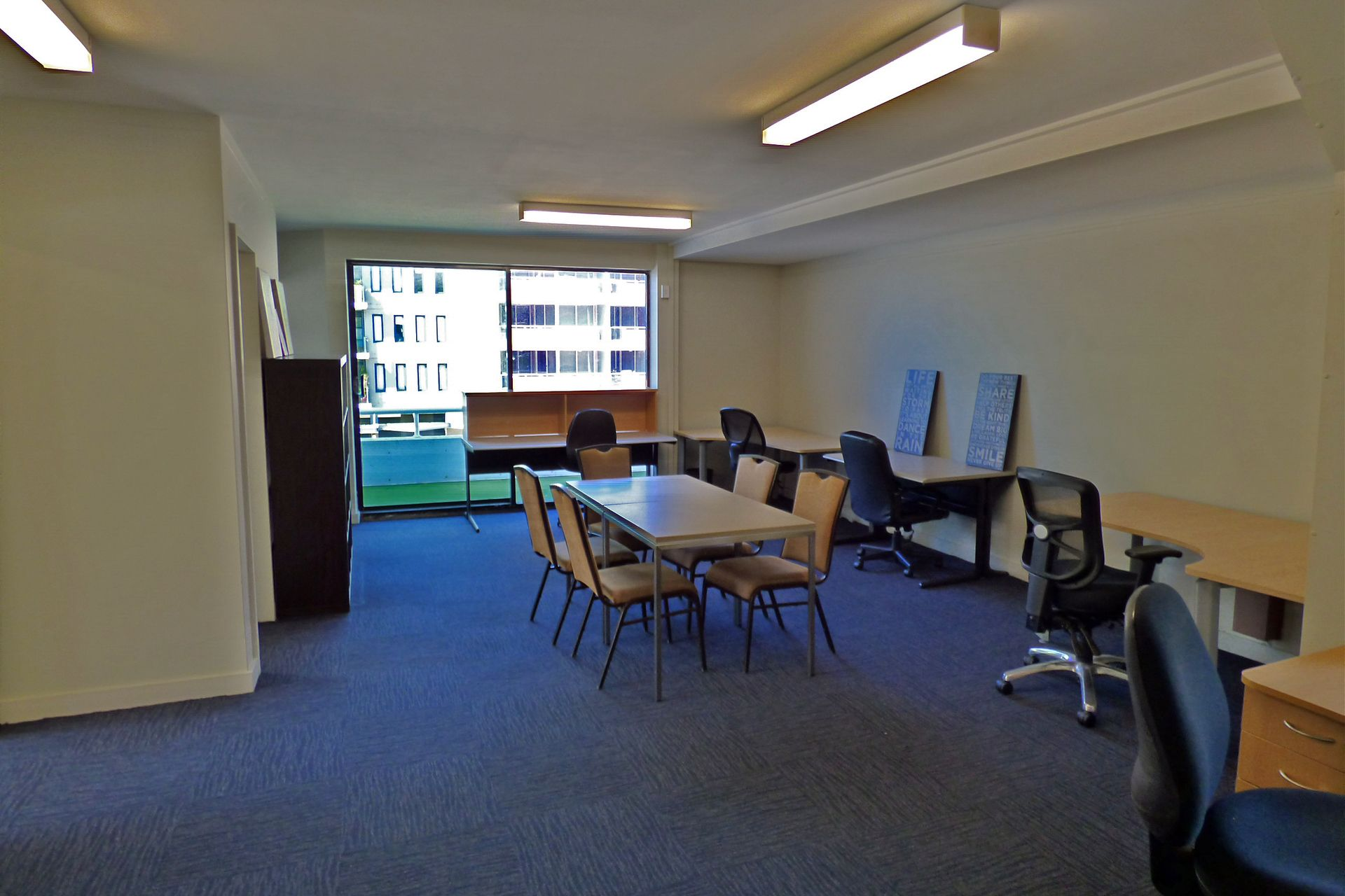 Character Filled First Floor Office in High Profile Position