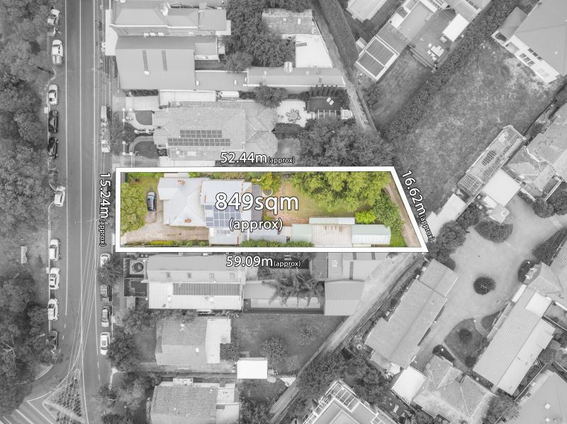 Perfectly Positioned with Plans & Permits for Multi-Unit Development