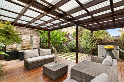 Sophisticated and stylishly renovated family home in sought after central precinct