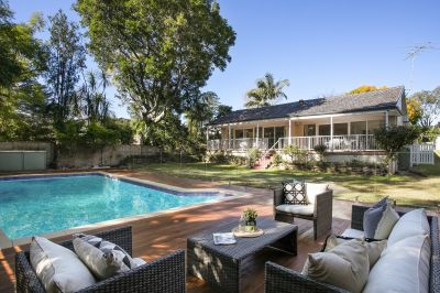 Spacious residence set on 1,715sqm parcel with idyllic North rear