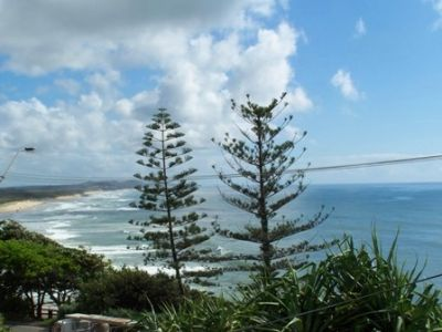Uninterrupted views of Coolum Beach