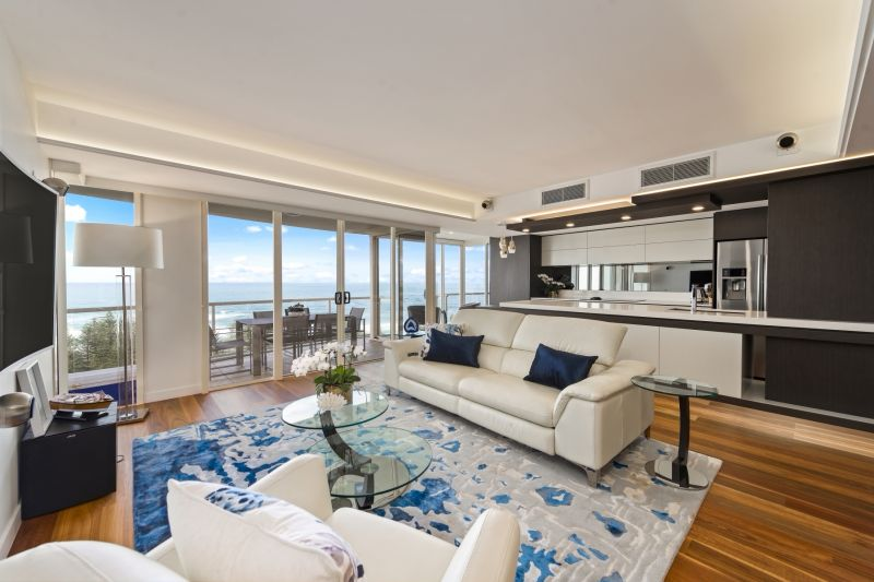 North East Facing Luxury Oceanside Apartment