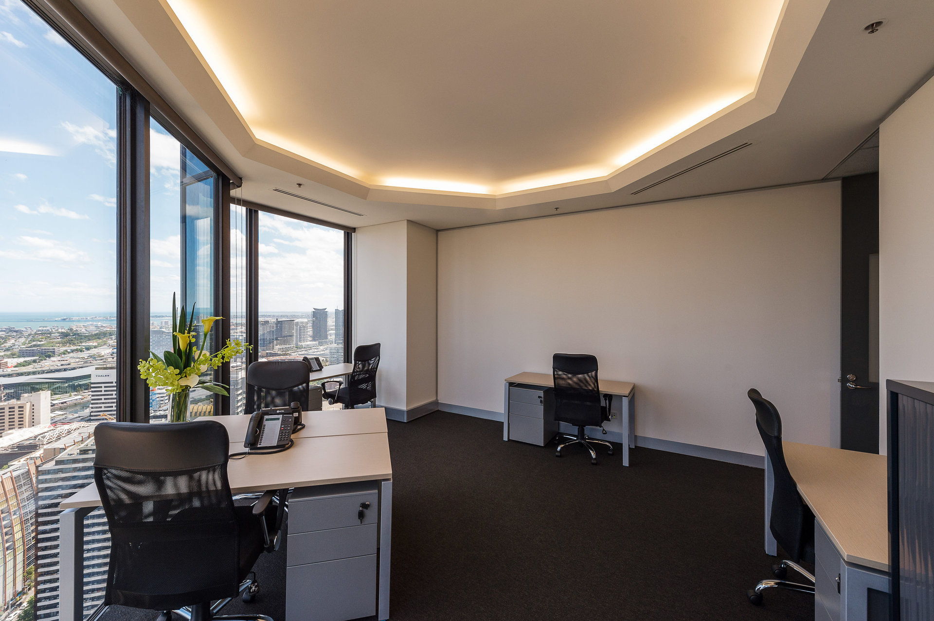 35 Square Metre Office Space available at Rialto Tower, 525 Collins St – Prestigious Location – All Inclusive Cost