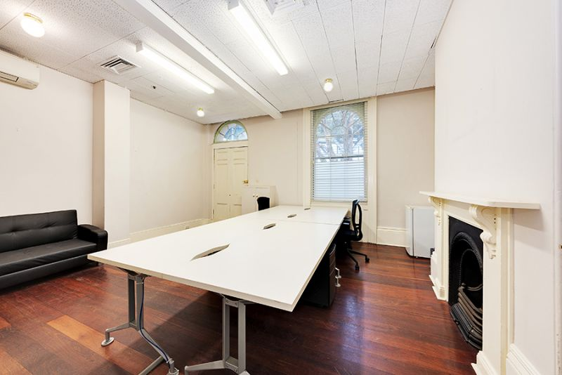 Private offices in heritage terrace