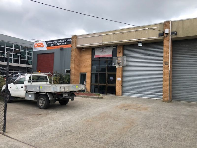 WAREHOUSE/OFFICE WITH STREET FRONTAGE