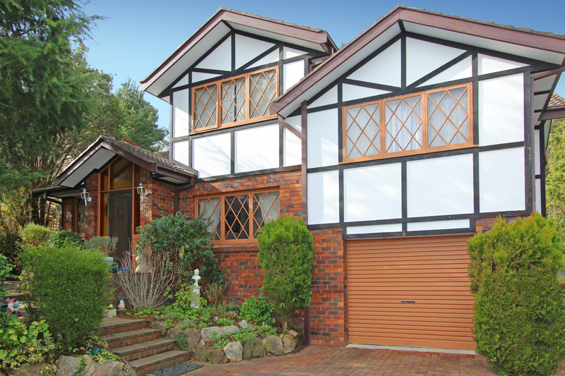 Tudor Style home with views