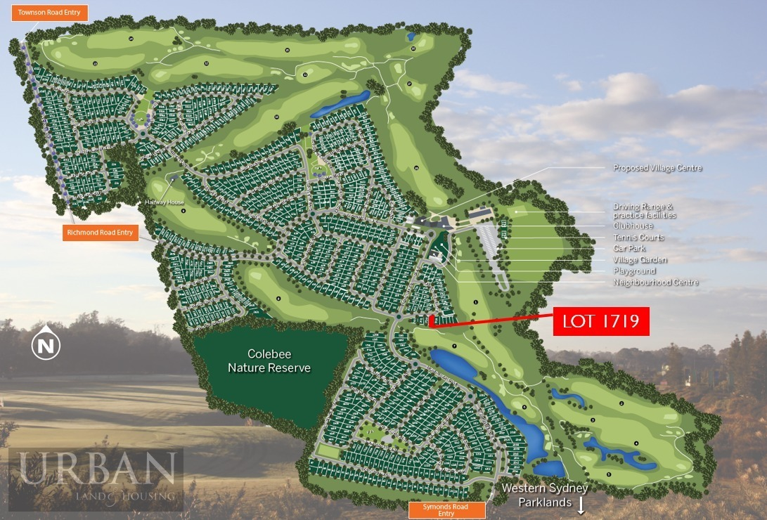 Colebee Lot 1719 Proposed Road | Stonecutters Ridge
