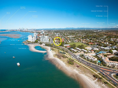 PERFECT LOCATION - METRES TO THE BROADWATER