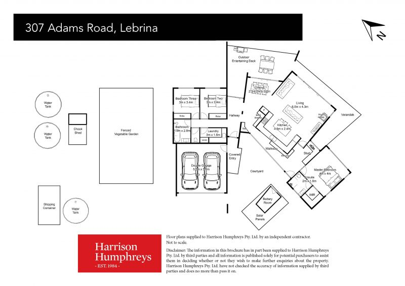 307 Adams Road Floorplan