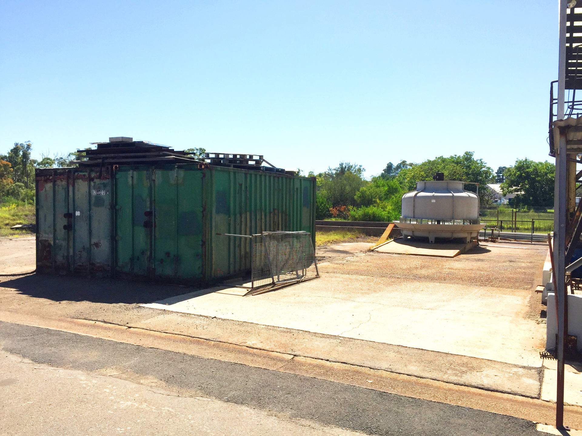 Industrial Facility with Lot of Surplus Land