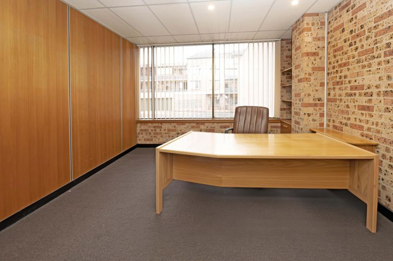 Partitioned Offices with Parking