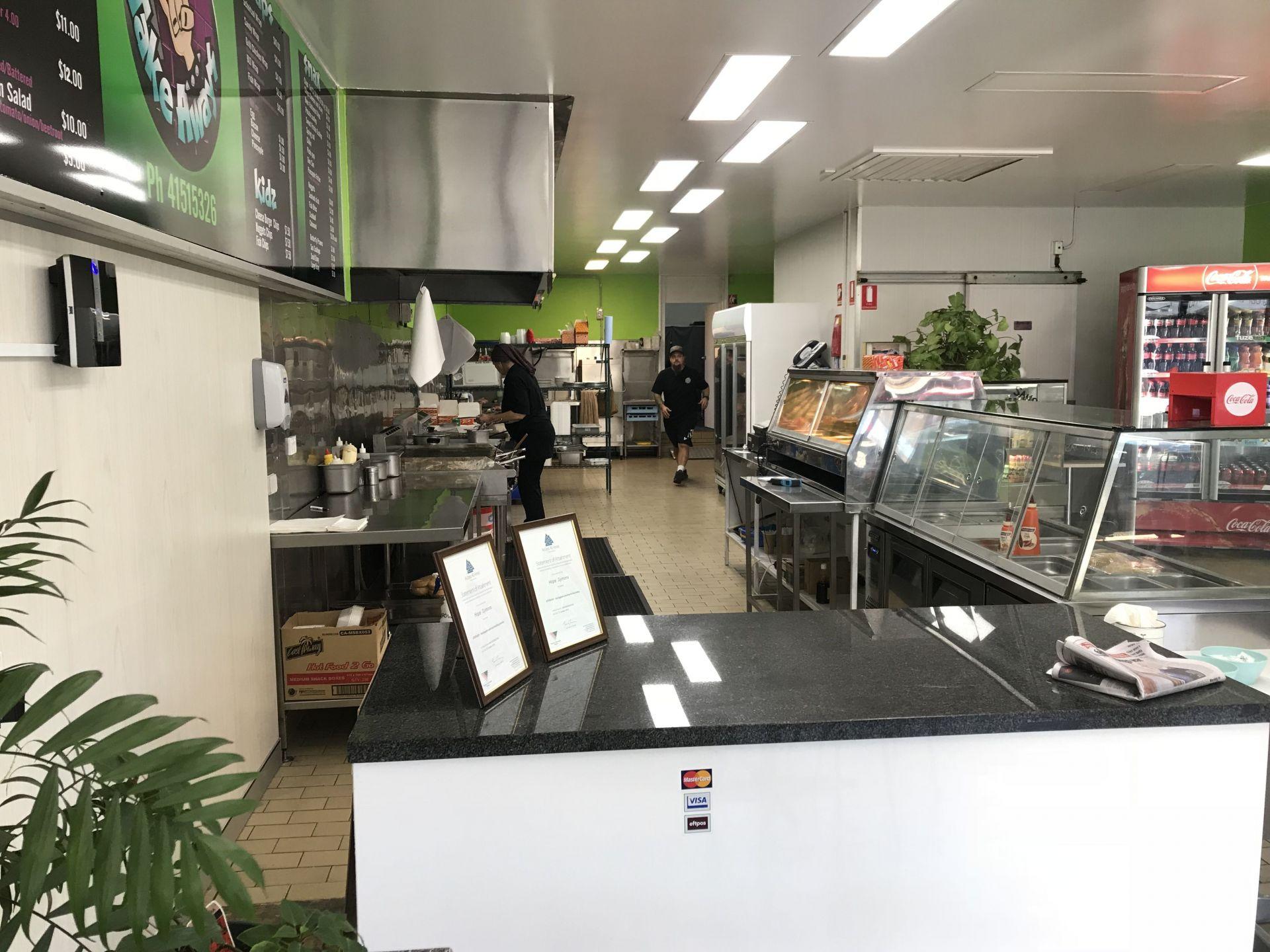 Large CBD Takeaway Shop