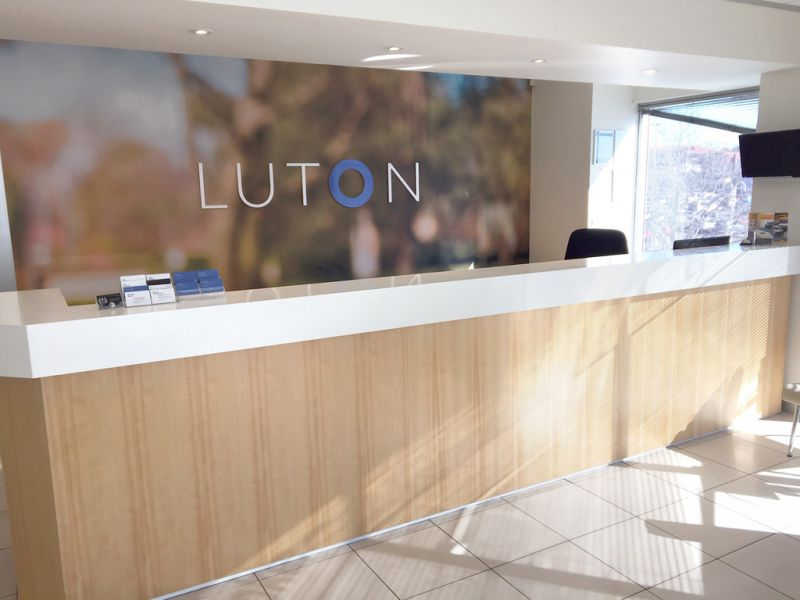 Premium fit out, in a high exposure area