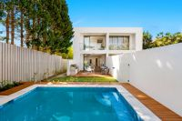 Made for Entertaining Brand New Attached Home offers Sundrenched Level Garden & Pool
