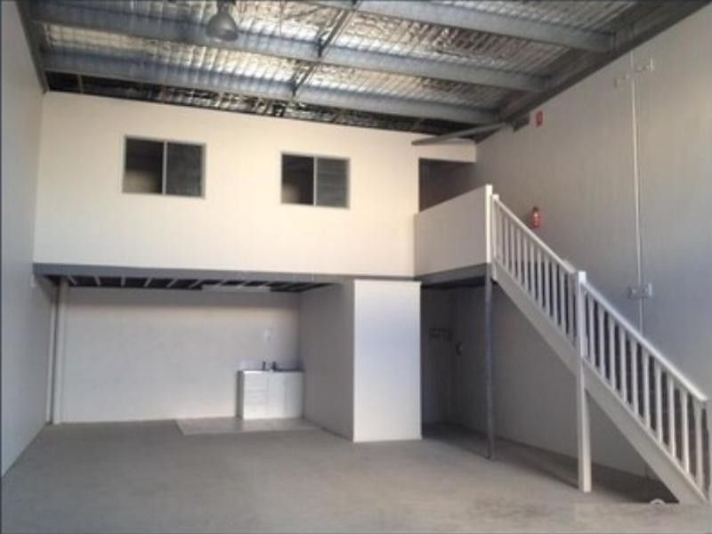 Shed/Warehouse, 120 m2 with upstairs office.  Partly Furnished
