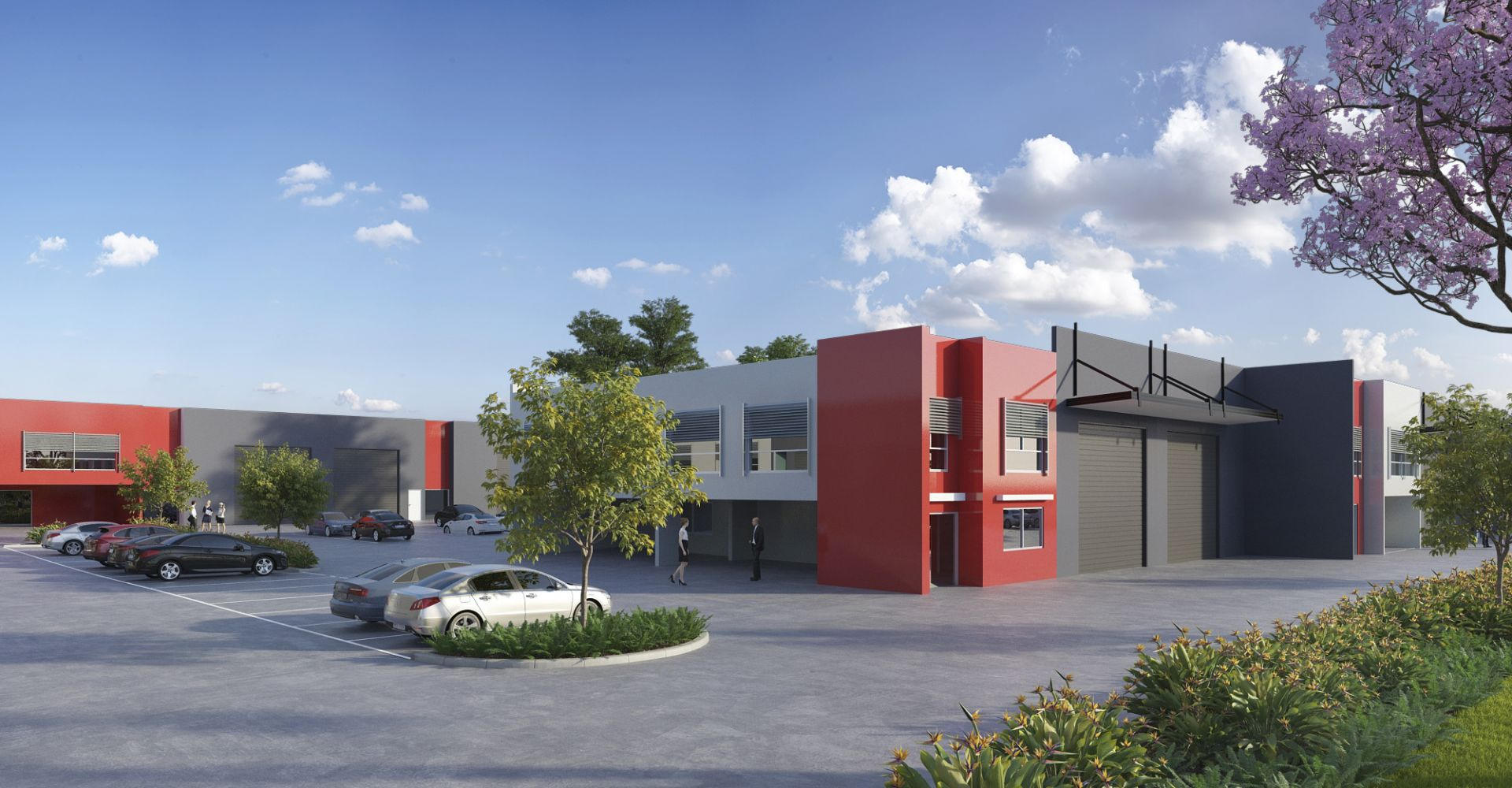 Quality brand new industrial units