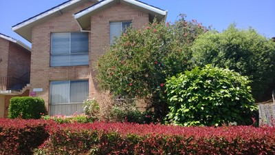 Large, first level solid brick one bedroom unit