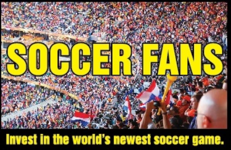 INVEST IN THE WORLDS NEWEST SOCCER GAME