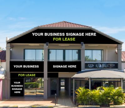 Incredible Signage & Exposure – Modern 374 sqm Office with Options!