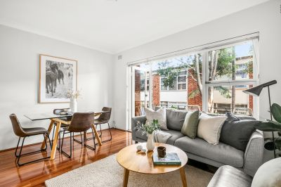 Bright and stylish north facing apartment in an incredibly convenient location