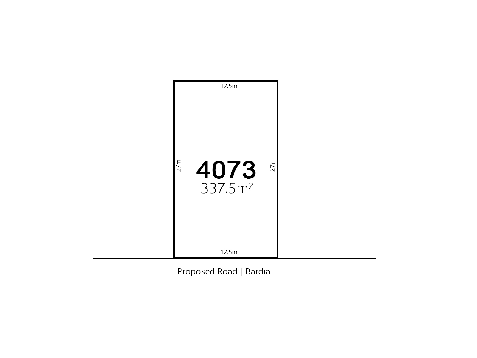 Bardia LOT 4073 Proposed Road | Bardia