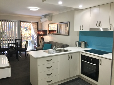 1 Bedroom renovated and furnished apartment in an Inner City Living