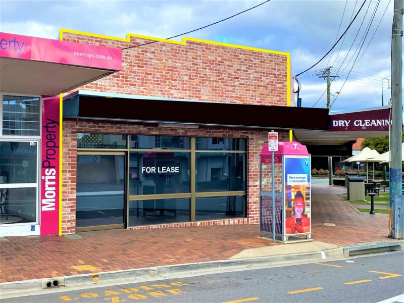 42SQM* HERITAGE FACADE BUILDING WITH MAIN ROAD FRONTAGE