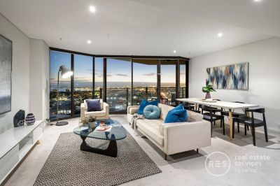 *Book now for your private inspection or video/Facetime tour* Tower 5: Inspired Yarra's Edge living with gorgeous bay views