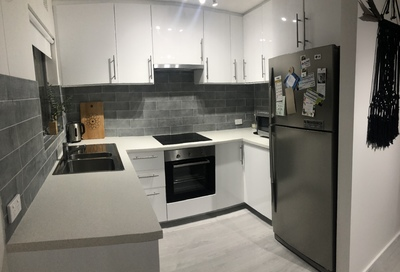 Freshly Renovated Ground Floor Unit