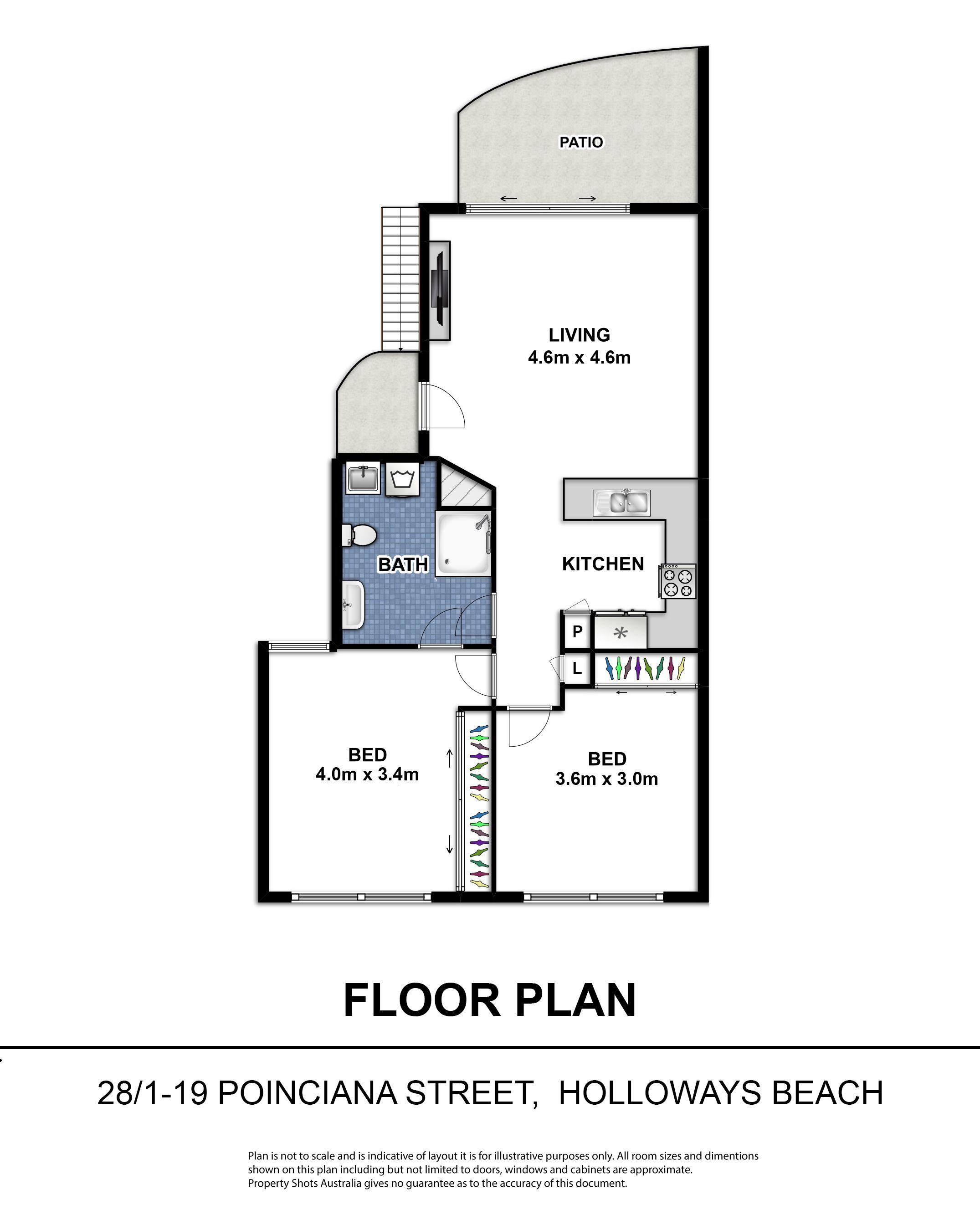 28/1-19 Poinciana Street, Holloways Beach QLD 4878