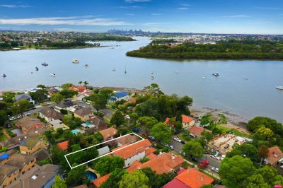 Exciting waterside potential on a wide fronted 697sqm parcel