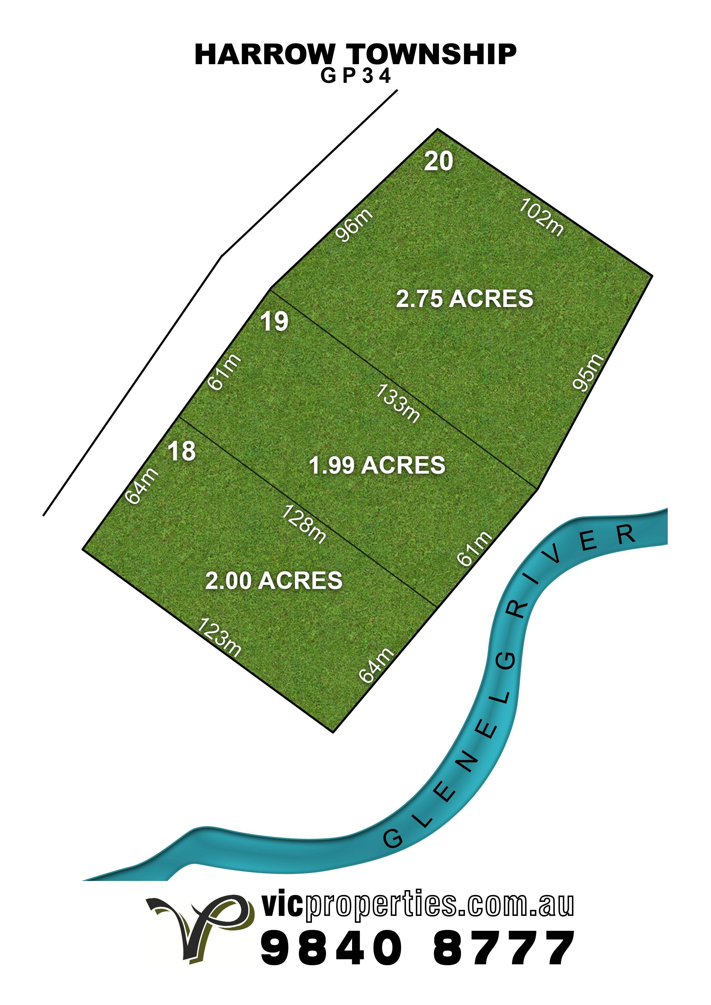 Lot 20/ Harrow-Casterton Road, Harrow VIC 3317