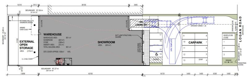 BRAND NEW SHOWROOM/ WAREHOUSE ON LOGAN RD