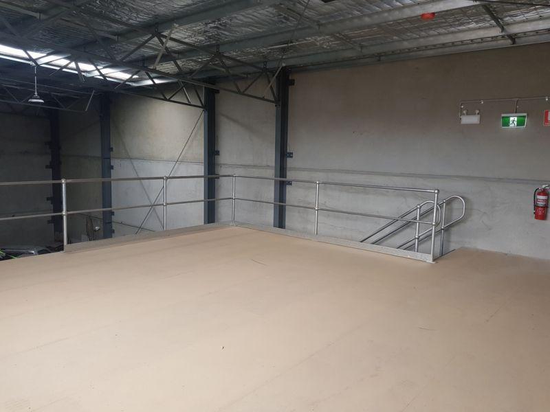 High Clearance Warehouse + Roller Door