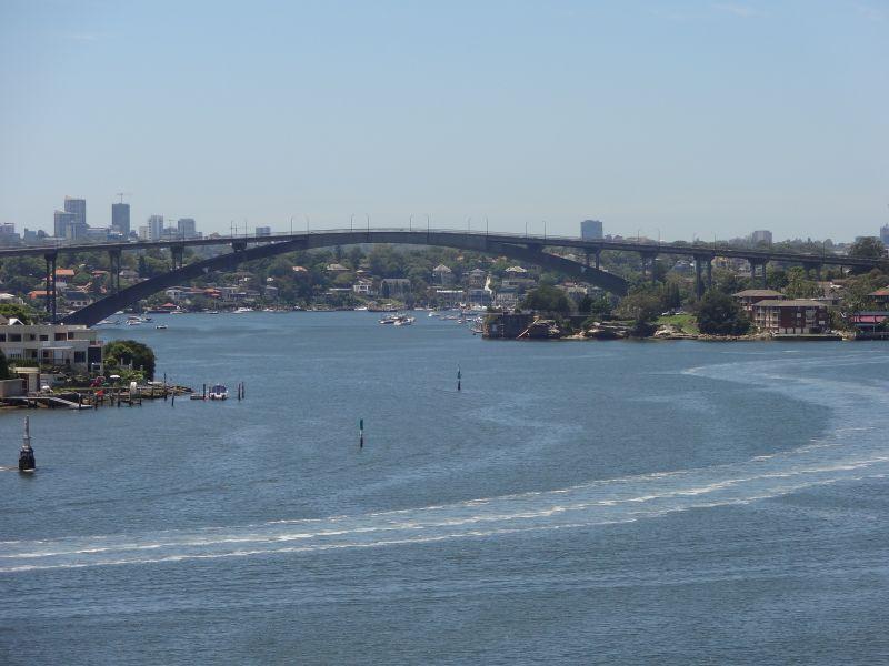 SPARKLING UNINTERRUPTED  WATER VIEWS ACROSS THE PARRAMATTA RIVER