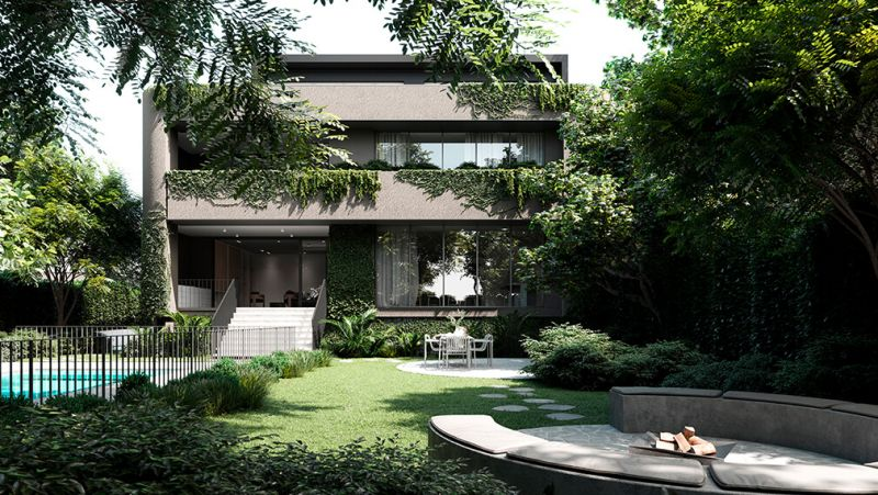Exclusive Garden Residence With Pool on 685 sqm (approx.) Moments To Church Street