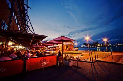 SILO - Honeysuckle Waterfront Restaurant/ Bar.