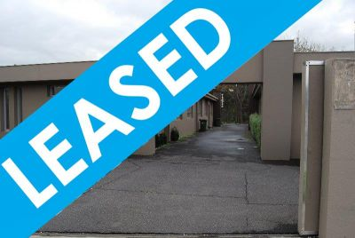 ***LEASED*** Recently Refurbished Unit