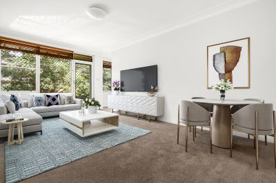 The most convenient lifestyle on offer in this newly renovated double brick unit