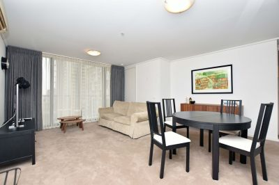 Spacious Fully Furnished Two Bedroom Apartment on the 25th Level at City Point!