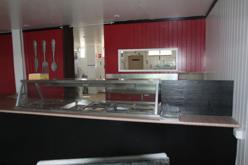 Commercial Kitchen with Cold Room & Grease Trap