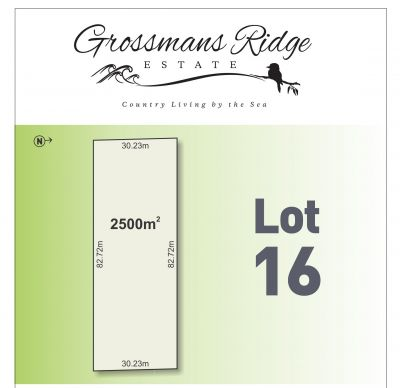 Lot 16/460 Grossmans Road, BELLBRAE